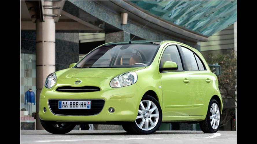 Nissan kündigt sparsamsten Benziner für Pkw an