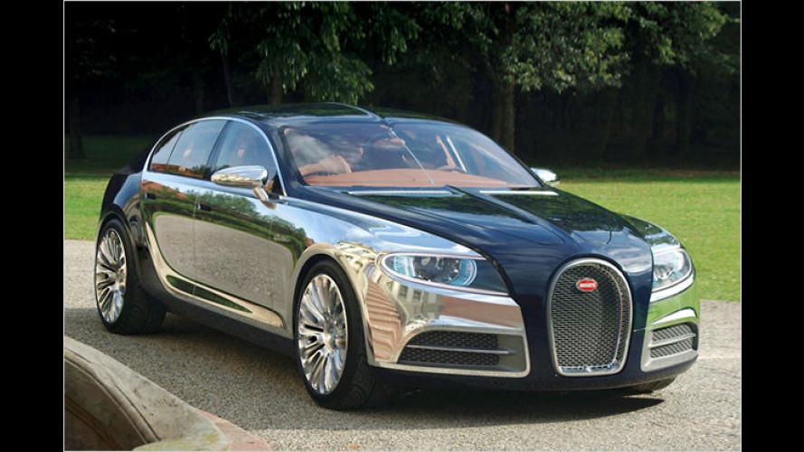 Bugatti: Stärkster Viertürer kommt mit 16-Zylinder-Motor