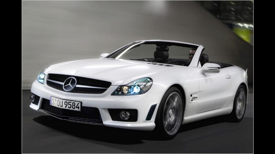 Zeit für ein Sondermodell: Mercedes SL 63 AMG ,IWC