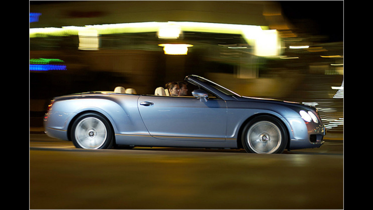 7. Platz: Bentley Continental GTC