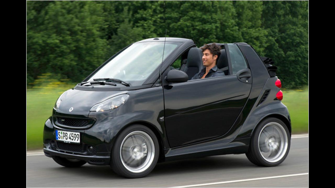 smart fortwo cabrio 1.0 turbo Brabus softip