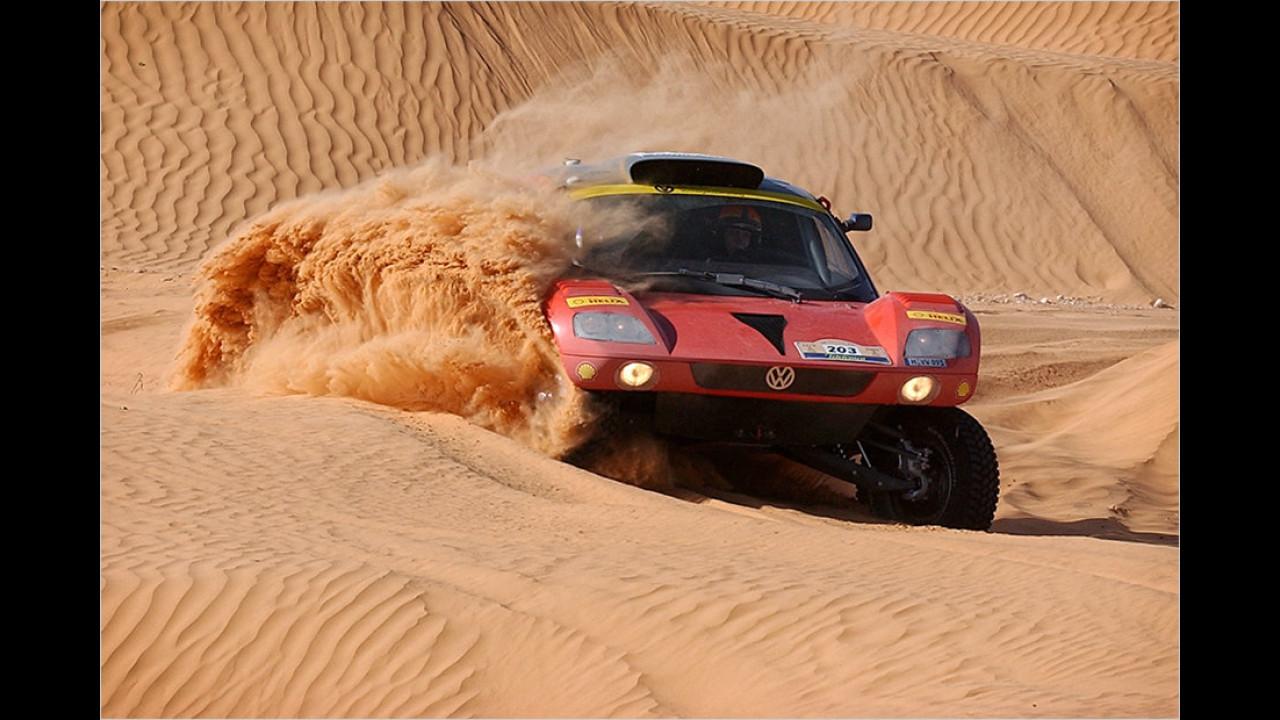 Comeback in der Wüste: Der VW Tarek