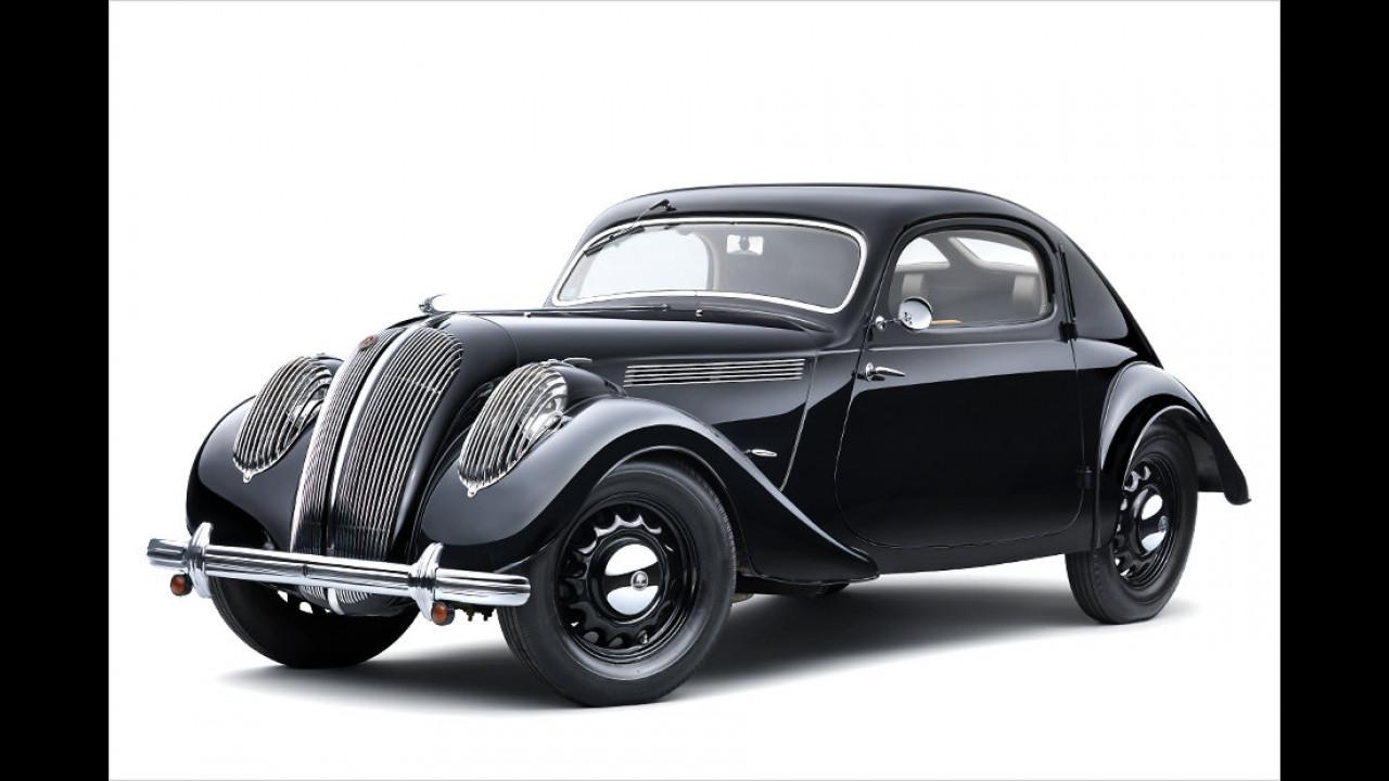 1936: Skoda Popular Monte Carlo Coupé