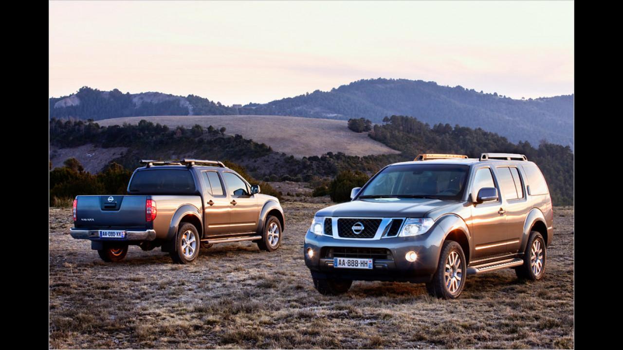Nissan Pathfinder/Navara Platinum