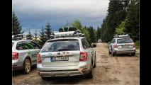 Rumänien durch die Windschutzscheibe