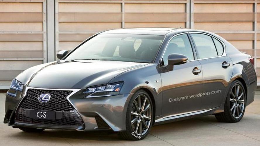 Lexus GS gets a speculative digital facelift