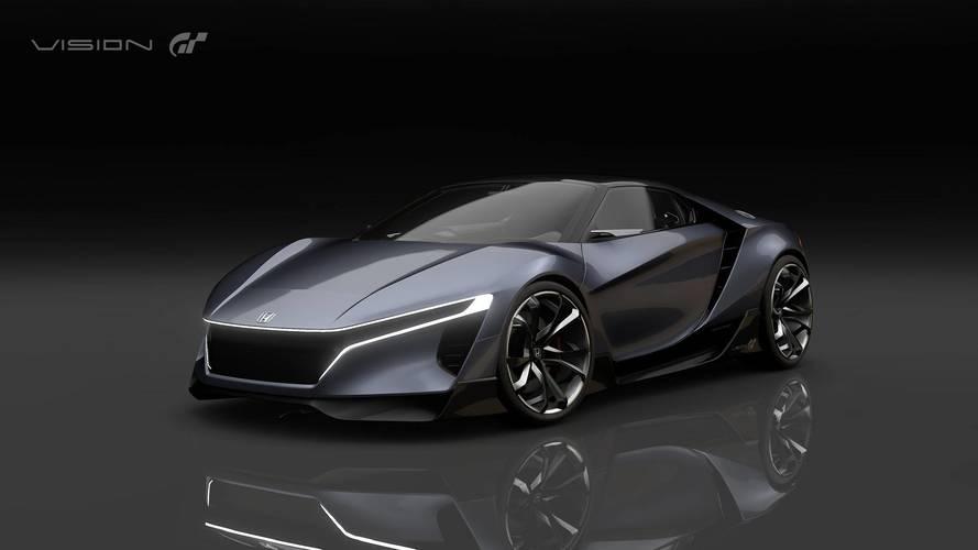 400 bg'lik Honda Sports Vision GT dijital tanıtımını yaptı