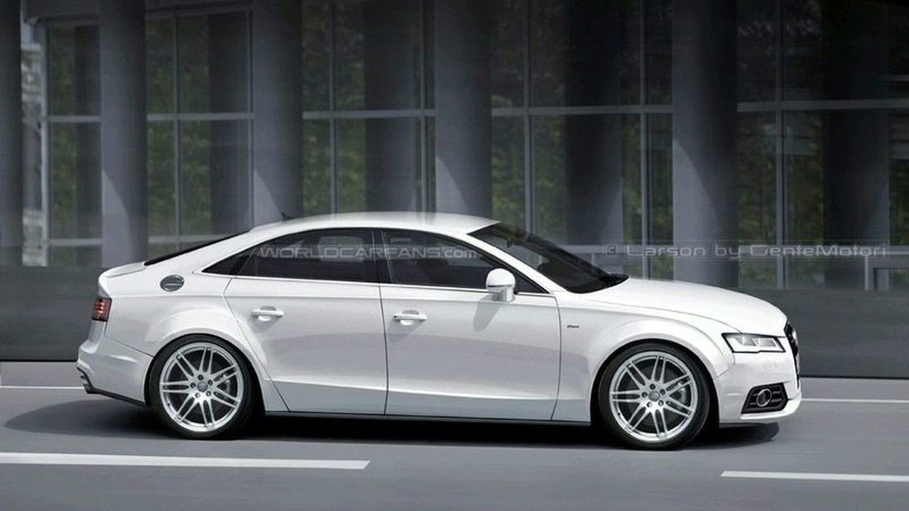 Audi A7 Artists rendering