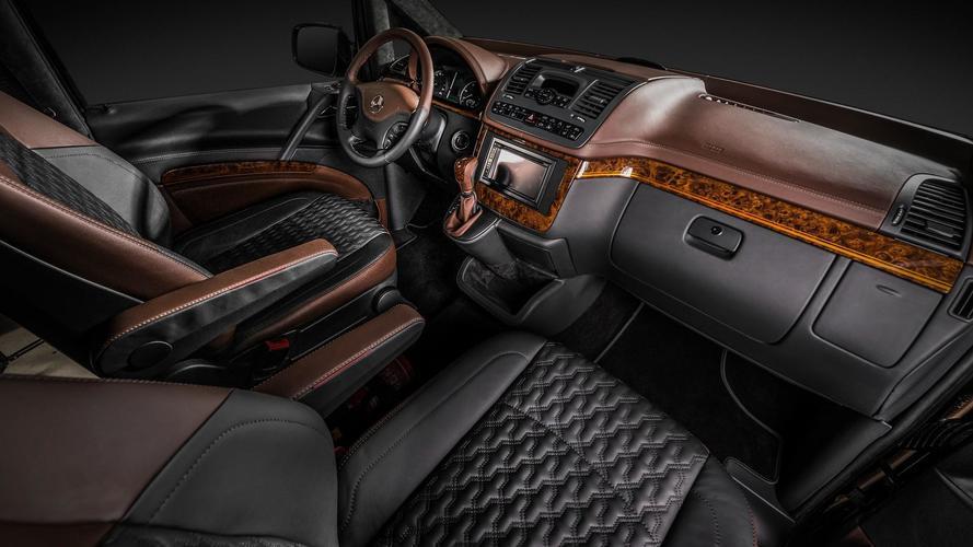 Mercedes-Benz Viano by Carlex, el Clase S de las furgonetas
