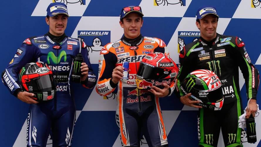 Pole de MotoGP para Márquez en Australia, gatillazo de Dovizioso
