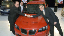 First Pontiac G8 Prototypes Finished