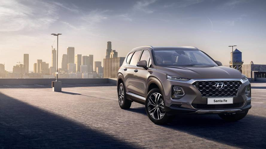 Hyundai previews new Santa Fe ahead of Geneva debut