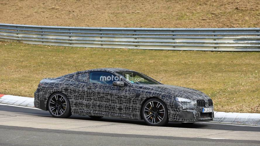 Watch the BMW M8 pushing hard at the Nurburgring
