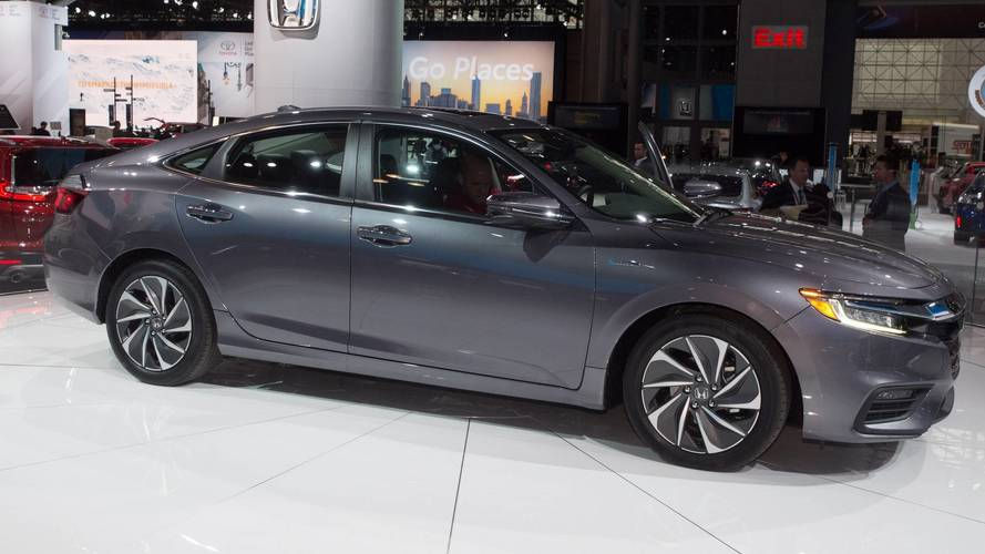2019 Honda Insight Is A Handsome Hybrid With Up To 55 MPG City