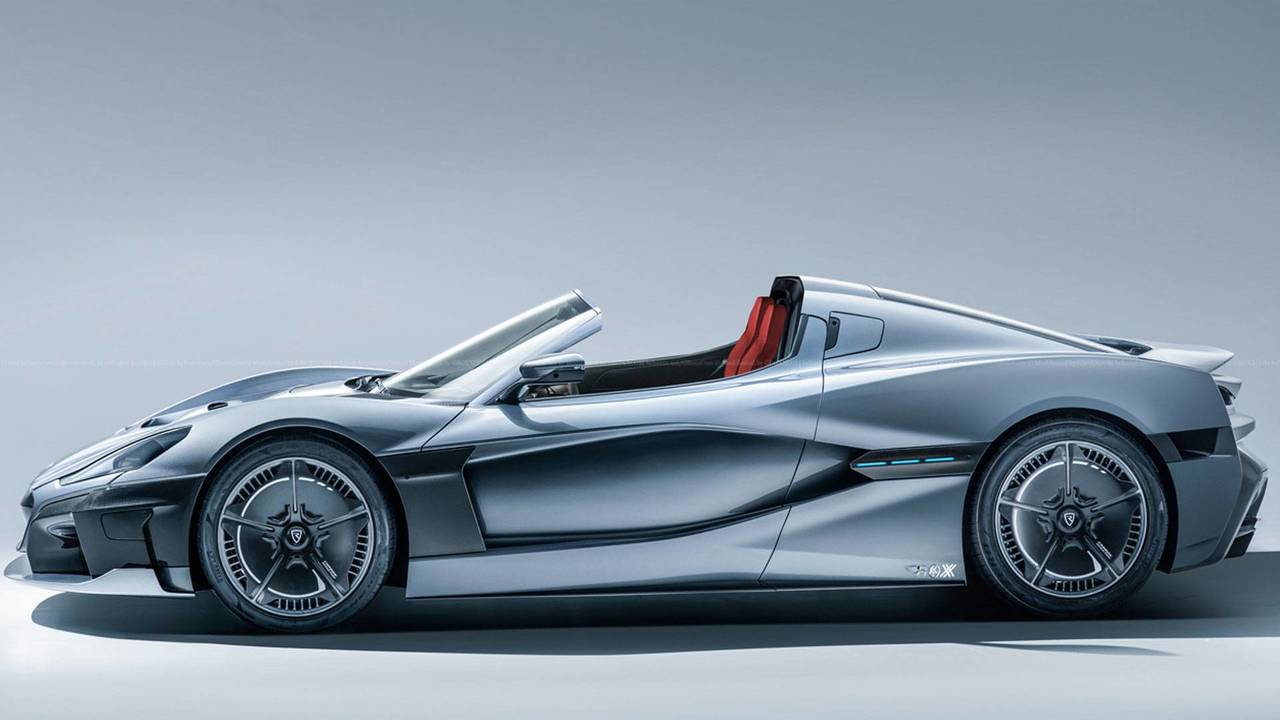 Rimac C_Two Convertible Render