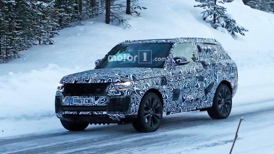 Photos espion - Le Range Rover Coupé surpris pour la première fois