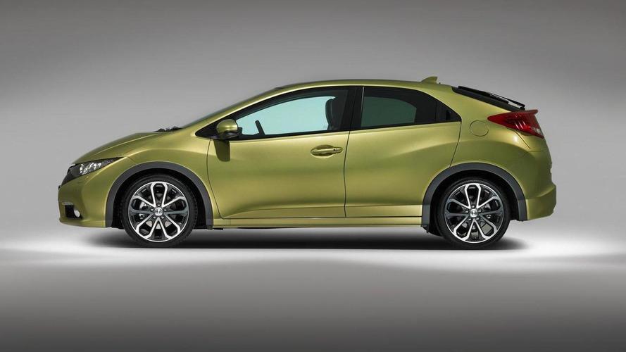 2012 Honda Civic (Euro-spec) first photos released [video]