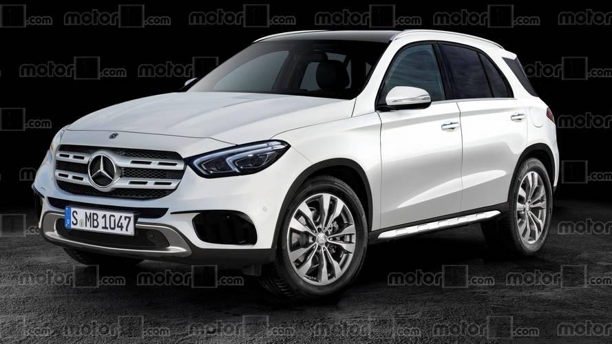 2019 Mercedes GLE dijital ortamda hayal edildi