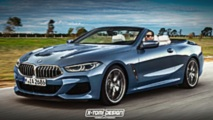 Renders BMW Serie 8 Cabrio y Shooting Brake 2018