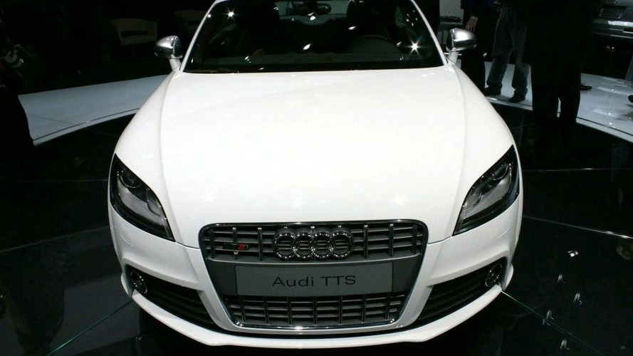 Audi TTS Officially Unveiled at Detroit