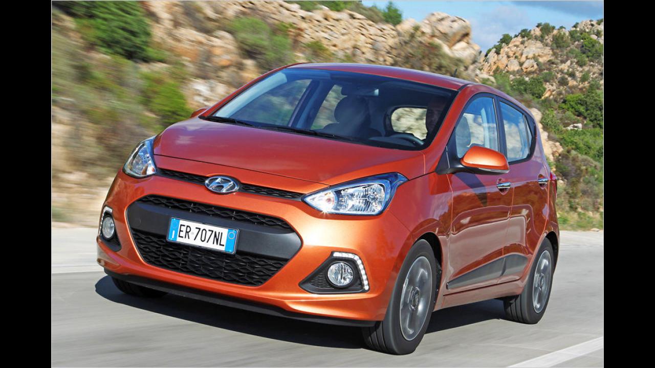 Für Automatik-Fans: Hyundai i10