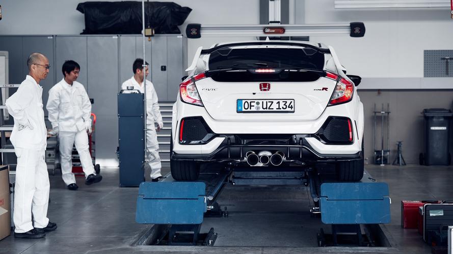 Honda Civic Type R record sur le Nürburgring