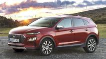 2018 Hyundai subcompact crossover render