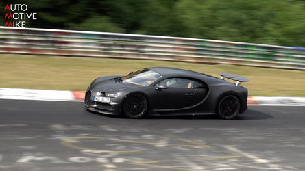 Why Is Bugatti Testing The Chiron At The Nurburgring?