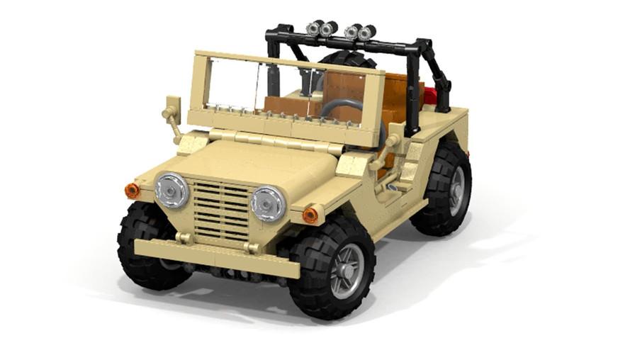 M151 MUTT Lego Ideas Proposal
