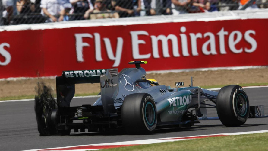 Heat on Pirelli after tyre-exploding British GP