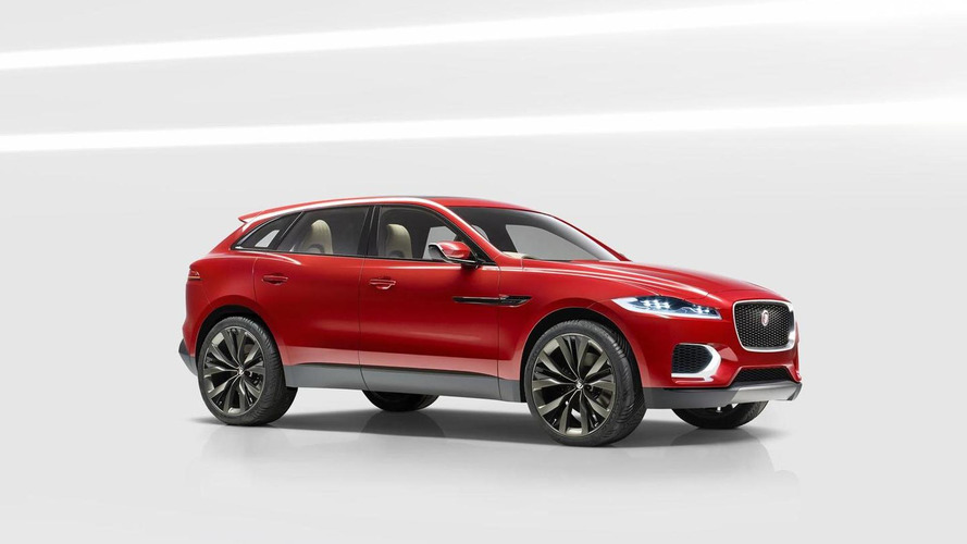 Jaguar introduces an updated C-X17 concept in Brussels