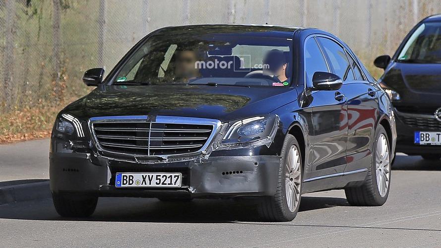 2018 Mercedes S-Class casus fotograflari