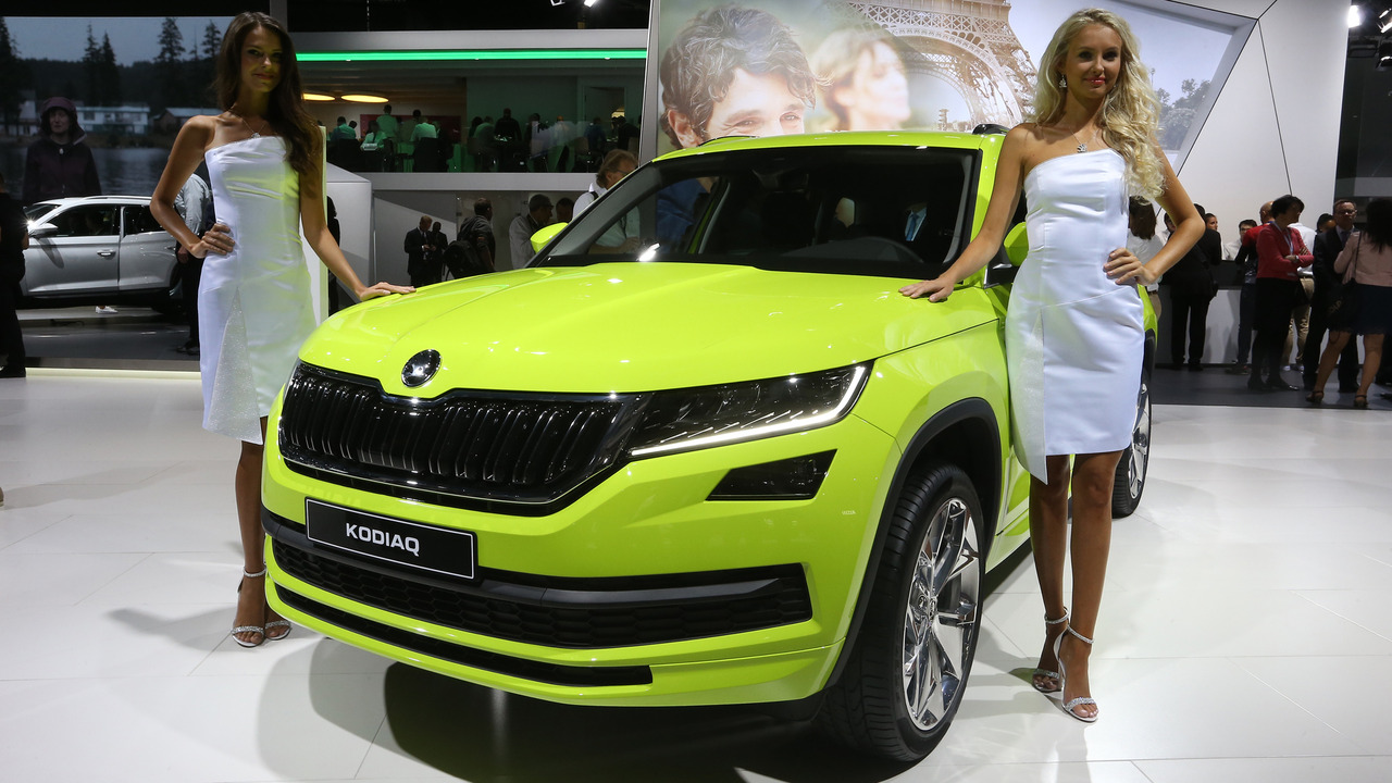 2017 skoda kodiaq paris motor show photo gallery. Black Bedroom Furniture Sets. Home Design Ideas