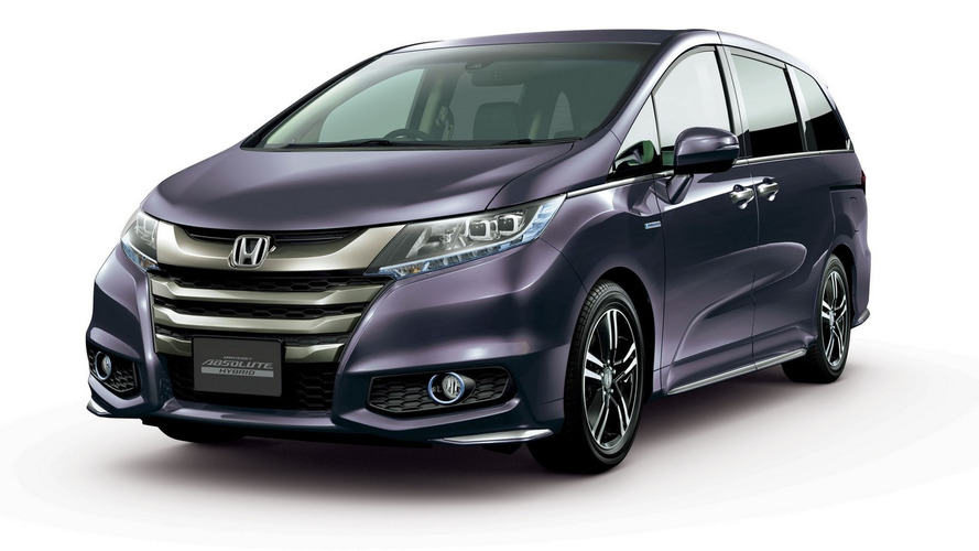 Honda Odyssey hybrid announced for Japan