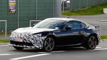 2017 Toyota GT 86 facelift spy photo