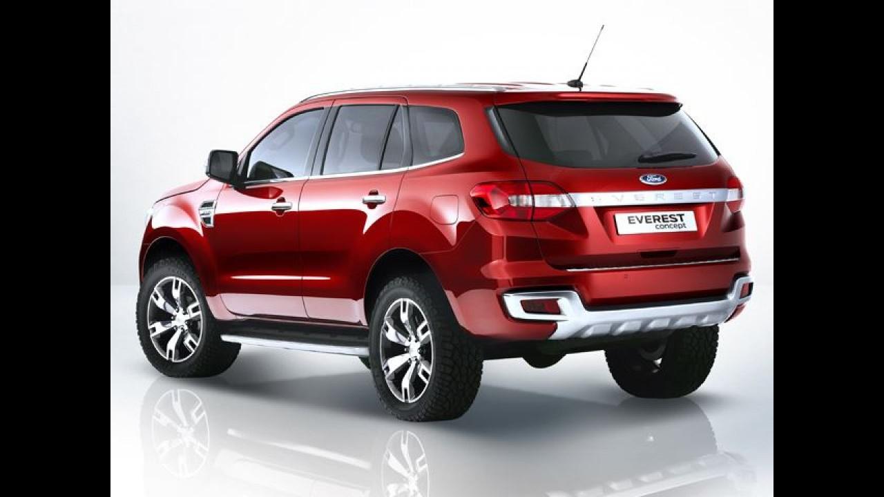 Flagra: Ranger 2015 ganhará facelift e design inspirado no SUV Everest