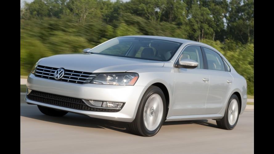 Alta demanda: Volkswagen aumentará em 13% produção do Passat nos EUA