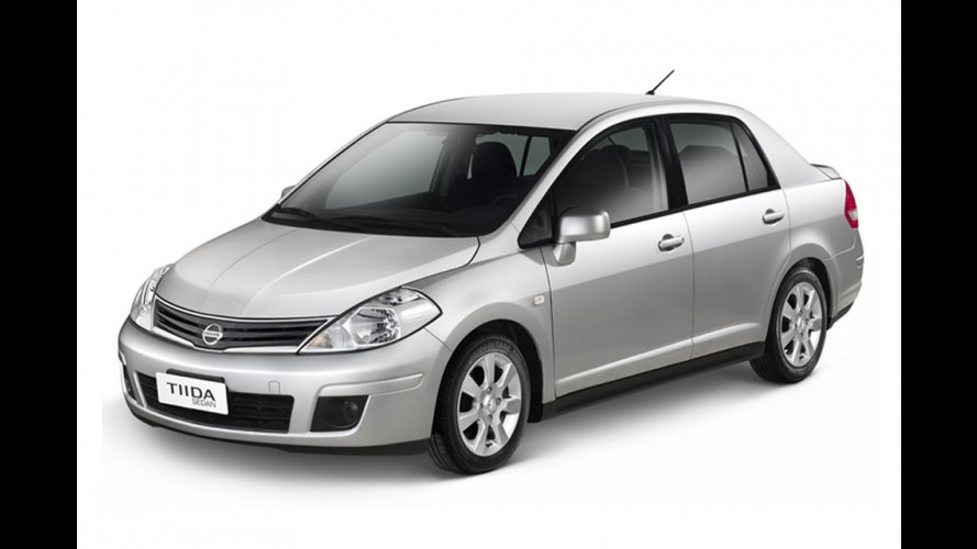 Nissan Tiida Sedan 2013 chega com rodas de liga leve de série e preços a partir de R$ 45.590