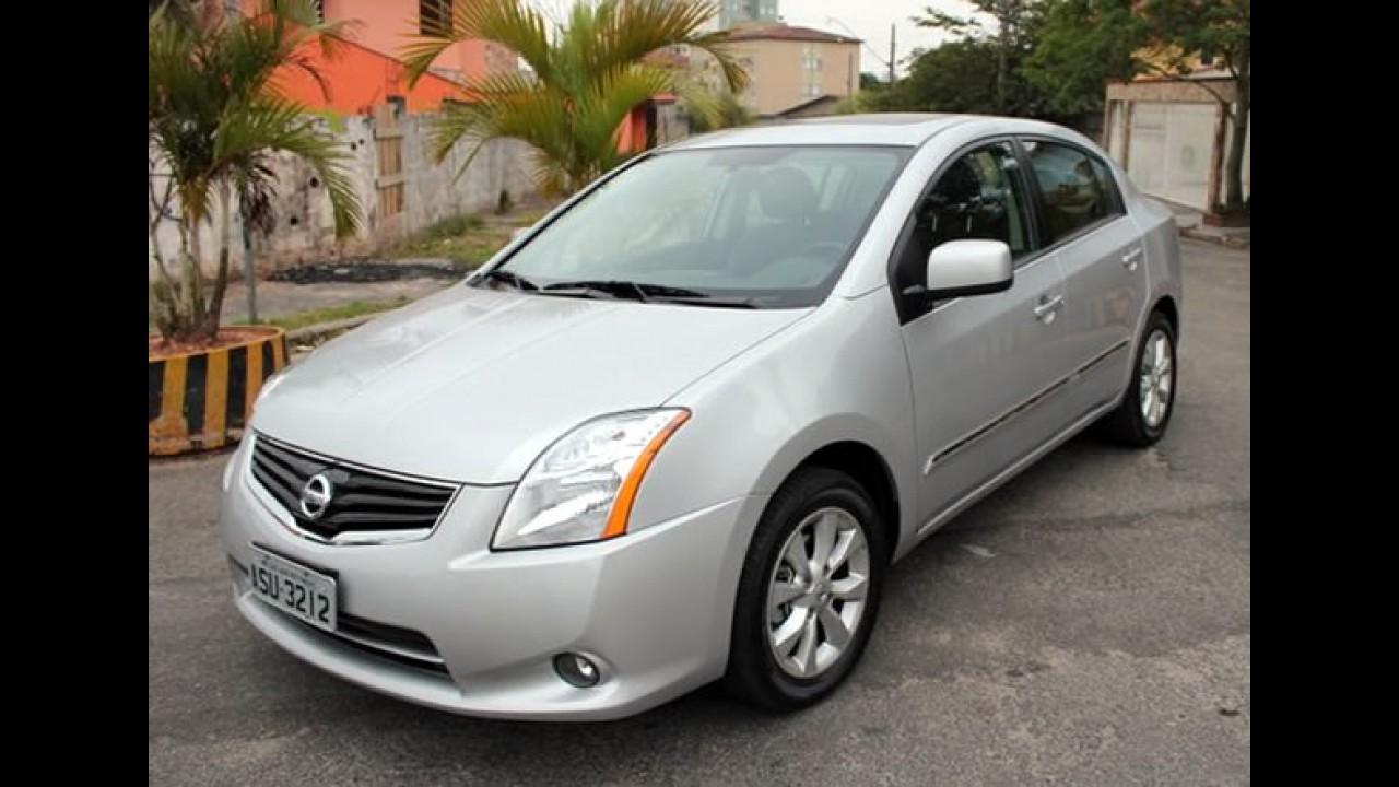 Nissan anuncia Recall do Sentra 2010/2011 no Brasil