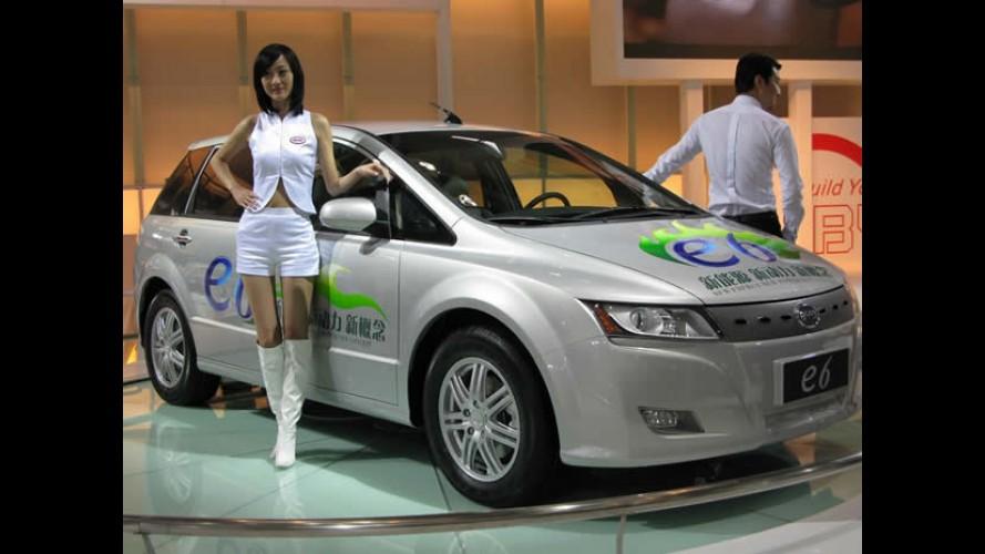 Governo chinês quer 100 mil elétricos nas ruas até 2015