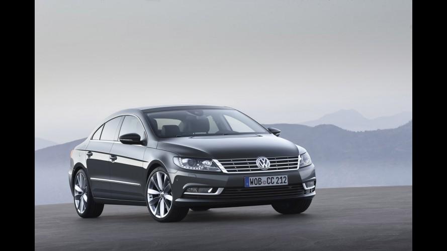 Novo Batismo: Volkswagen renomeia Passat CC para apenas