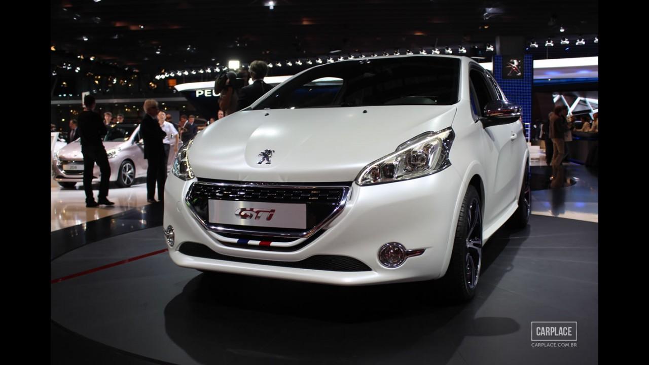 Salão do Automóvel: Peugeot 208 GTi é apresentado em Paris e pode ser surpresa em São Paulo