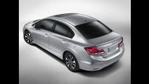 Ele mudou de novo! - Honda revela as primeiras imagens do Civic 2013 nos Estados Unidos