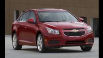 EUA: Chevrolet Cruze terá motor 1.4 Ecotec Turbo de 138cv e consumo de 17 km/litro