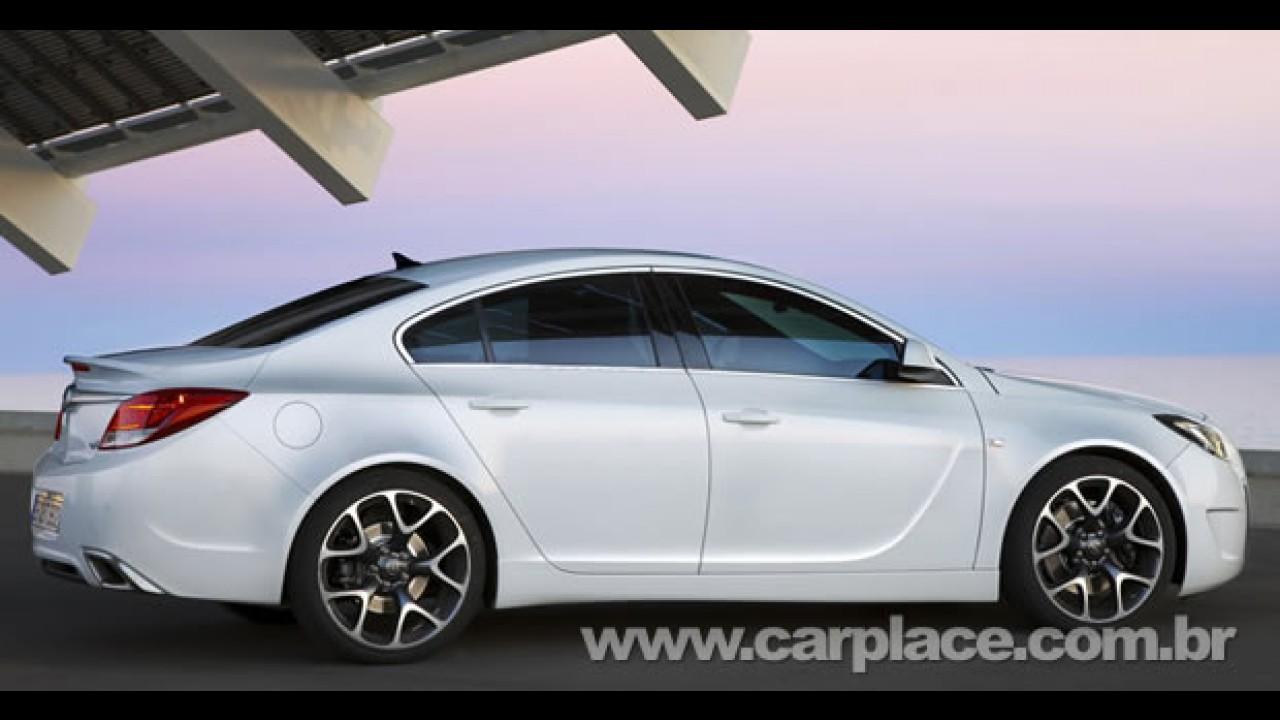 Vectra dos europeus: Vídeo oficial mostra detalhes do esportivo Opel Insiginia OPC