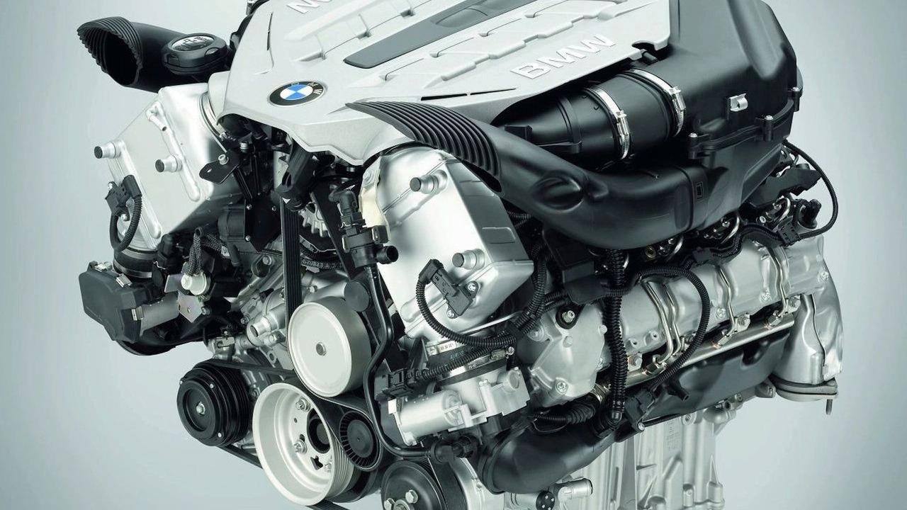 BMW X6 4.4 Liter Twin Turbo V8 engine
