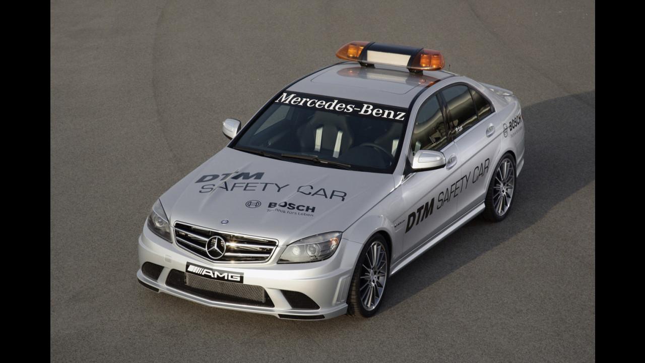 Mercedes C 63 AMG Safety Car nel DTM
