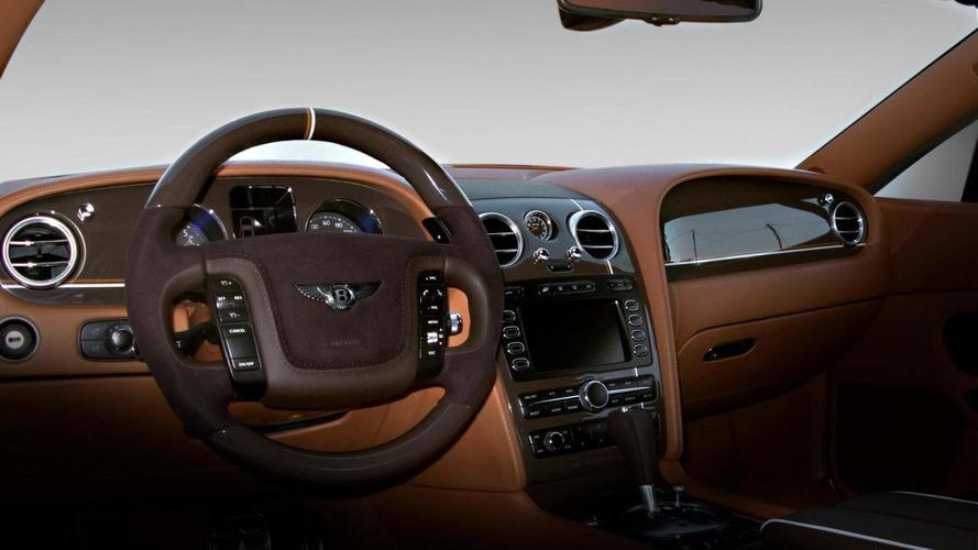 Bentley Continental GT interior restyled by Vilner