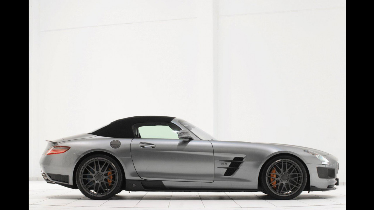 Mercedes SLS AMG Roadster by Brabus
