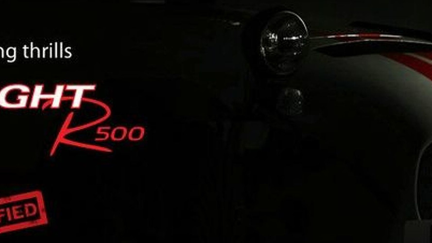 Caterham Releases R500 Superlight Teaser Image